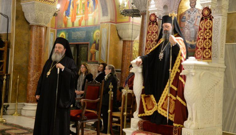 Οι Χαιρετισμοί προς τον Άγιο Απόστολο Ανδρέα στην Ι. Μ. Πατρών (ΦΩΤΟ)