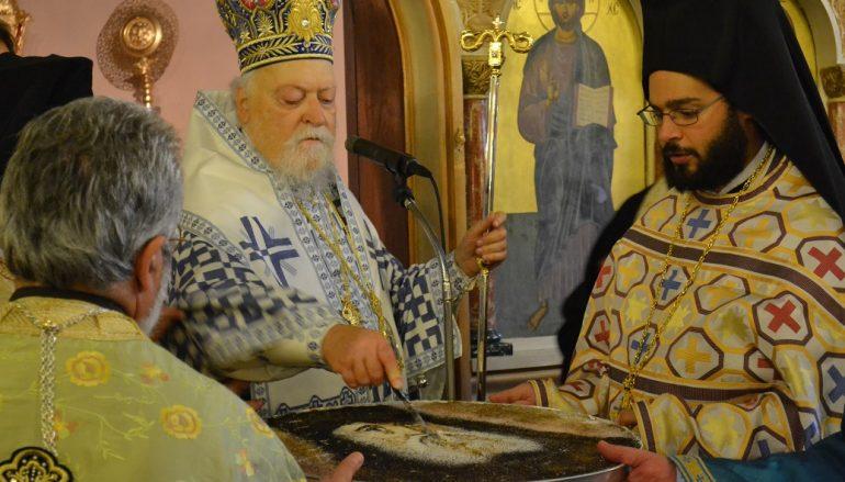 Αρχιερατική Θεία Λειτουργία του Αγίου Νεκταρίου στην Ηλιούπολη (ΦΩΤΟ)