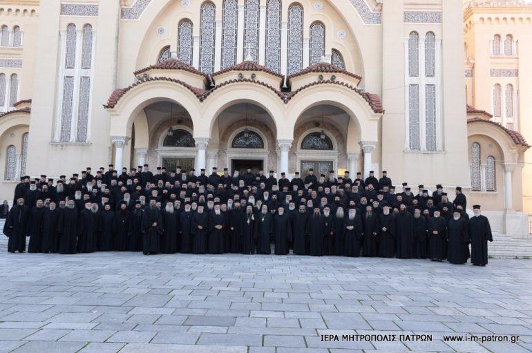 Γενική Ιερατική Σύναξη στην Ι. Μ. Πατρών (ΦΩΤΟ)
