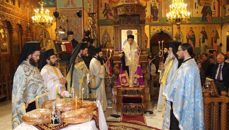 Η εορτή των Εισοδίων της Θεοτόκου στην Ι. Μ. Λαρίσης (ΦΩΤΟ)