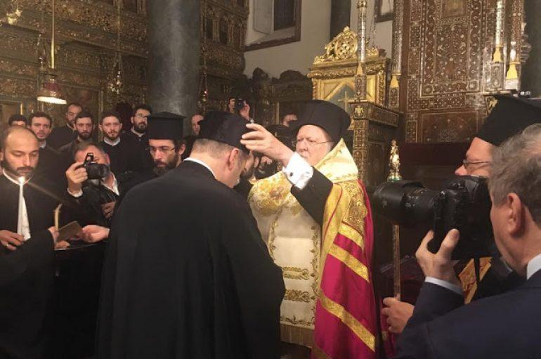 Νέος Άρχων Πρωτοψάλτης της Μεγάλης Εκκλησίας ο Παναγιώτης Νεοχωρίτης (ΦΩΤΟ)