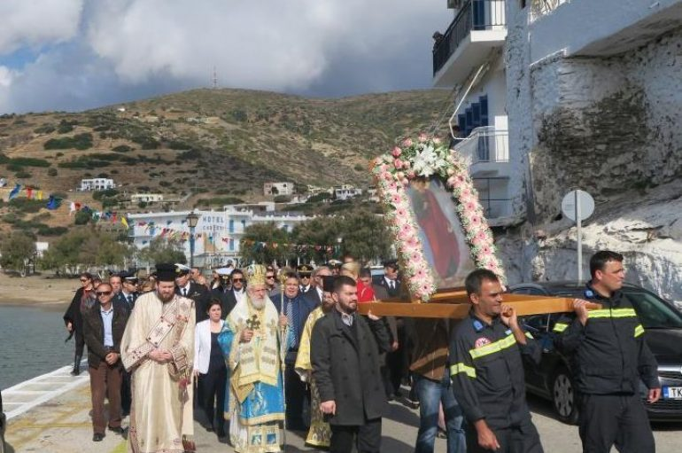 Το Μπατσί της Άνδρου εόρτασε τη μνήμη του Αγίου Φιλίππου (ΦΩΤΟ)