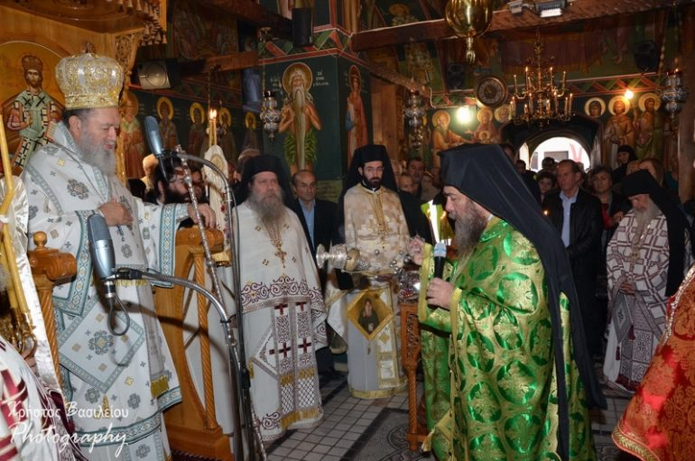 Πανηγύρισε η Ιερά Μονή του Οσίου Δαυΐδ του Γέροντος (ΦΩΤΟ)
