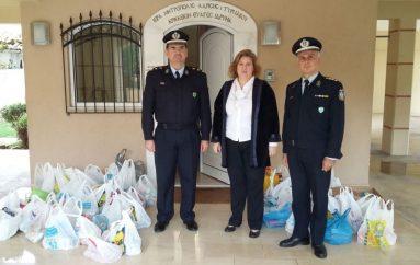 Η Αστυνομική Διεύθυνση Θεσσαλίας προσέφερε τρόφιμα στο Κρίκκειο Ορφανοτροφείο