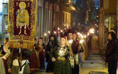 Η επιστροφή της θαυματουργού Ιεράς Εικόνος του Αγίου Μηνά (ΦΩΤΟ-ΒΙΝΤΕΟ)