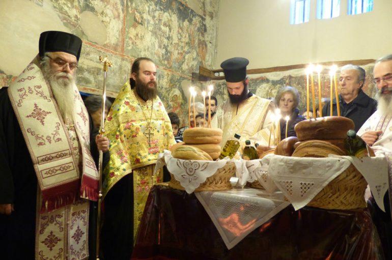 Ο εορτασμός των Αγίων Γουρία, Σαμωνά και Αβίβου στην Ι. Μ. Καστορίας (ΦΩΤΟ)