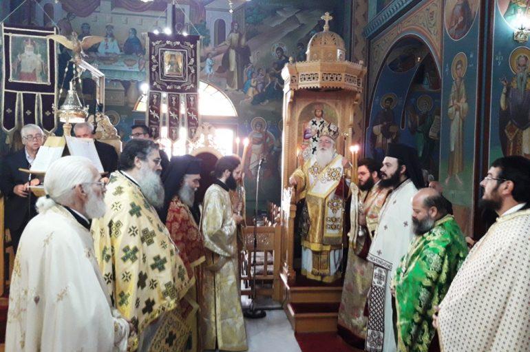 Με λαμπρότητα γιορτάστηκε η μνήμη του Αγίου Νεκταρίου στη Μητρόπολη Δημητριάδος (ΦΩΤΟ)
