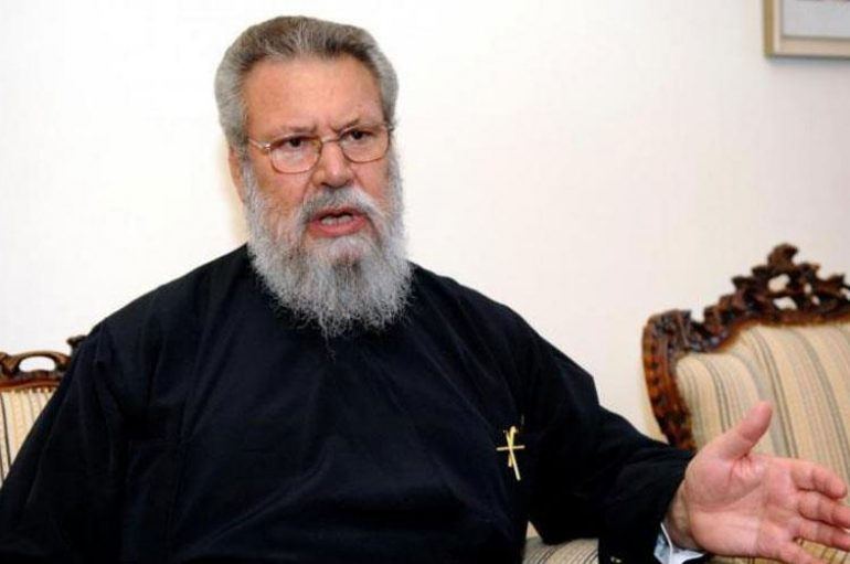Αρχιεπίσκοπος Κύπρου: «Η ομοφυλοφιλία είναι εκτροπή, είναι αμαρτία»