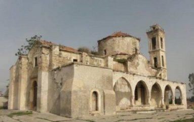 Εργασίες αποκατάστασης Αρχαγγέλου Μιχαήλ στο Λευκόνοικο