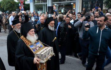 Η Ι. Μητρόπολη Σταγών υποδέχεται την Αγία Ζώνη της Παναγίας