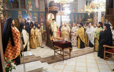 Τεμάχιο Λειψάνου του Αγίου Λουκά Συμφερουπόλεως στην Καισσαριανή (ΦΩΤΟ)