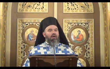 """Αρχιμ. Διονύσιος Κατερίνας: """"Η Παναγία έγινε η πραγματοποίηση του αδύνατου ως δυνατού"""" (ΒΙΝΤΕΟ)"""
