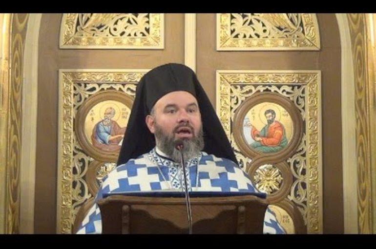 Αρχιμ. Διονύσιος Κατερίνας: «Η Παναγία έγινε η πραγματοποίηση του αδύνατου ως δυνατού» (ΒΙΝΤΕΟ)