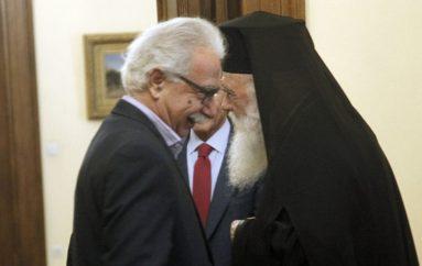 Η πρώτη συνάντηση του Αρχιεπισκόπου με τον Υπουργό Παιδείας