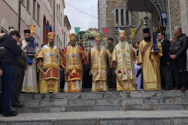 Η Εορτή των Εισοδίων της Θεοτόκου στην Αρχόντισσα της Ρούμελης (ΦΩΤΟ)