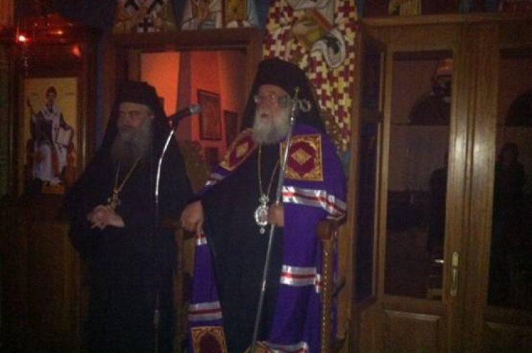 Αγρυπνία για τα Εισόδια της Θεοτόκου στην Ι. Μονή Αναστάντος Χριστού Βαρνάβα Αττικής (ΦΩΤΟ)