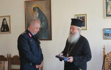 Ο Γεν. Αστυνομικός Διευθυντής Στερεάς Ελλάδος στον Μητροπολίτη Φθιώτιδος (ΦΩΤΟ)
