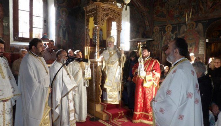 Αρχιερατική Θεία Λειτουργία στην Ι. Μονή Αγ. Γεωργίου Φενεού (ΦΩΤΟ)