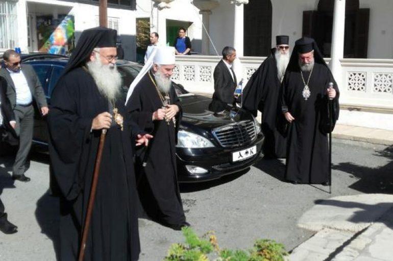Η Πάφος υποδέχθηκε τον Πατριάρχη Σερβίας Ειρηναίο