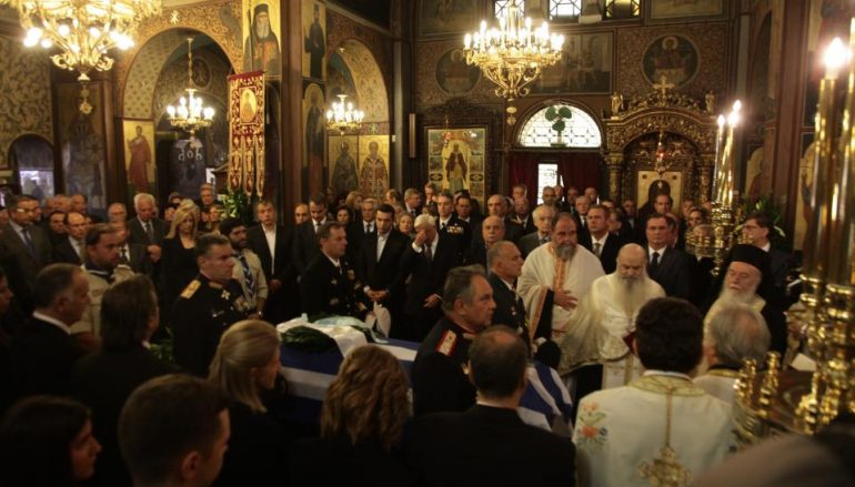 """Μητροπολίτης Πατρών: """"Ο Κ. Στεφανόπουλος ήταν σύμβολο ενότητας για τον Ελληνικό Λαό"""" (ΦΩΤΟ-ΒΙΝΤΕΟ)"""