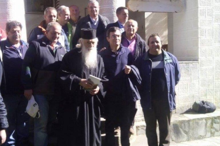 O Κωνσταντίνος Καραμανλής επισκέφτηκε την οικία του Αγίου Παΐσιου (ΦΩΤΟ)