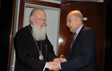 Οικ. Πατριάρχης: «Άνθρωπος του πνεύματος και με ήθος ο Κωστής Στεφανόπουλος»