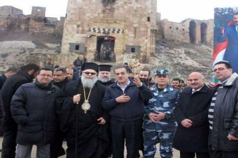 Ο Πατριάρχης Αντιοχείας Ιωάννης στο Χαλέπι