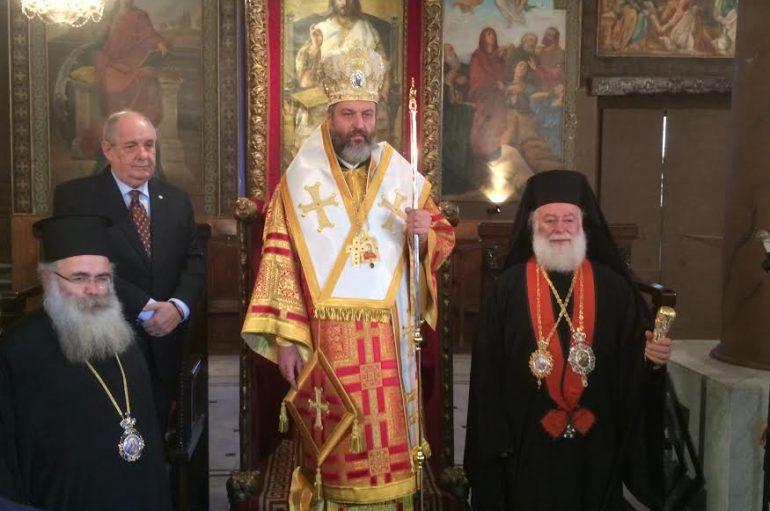 Ο Υφυπ. Εξωτερικών στη χειροτονία του νέου Επισκόπου Βαβυλώνος (ΦΩΤΟ)