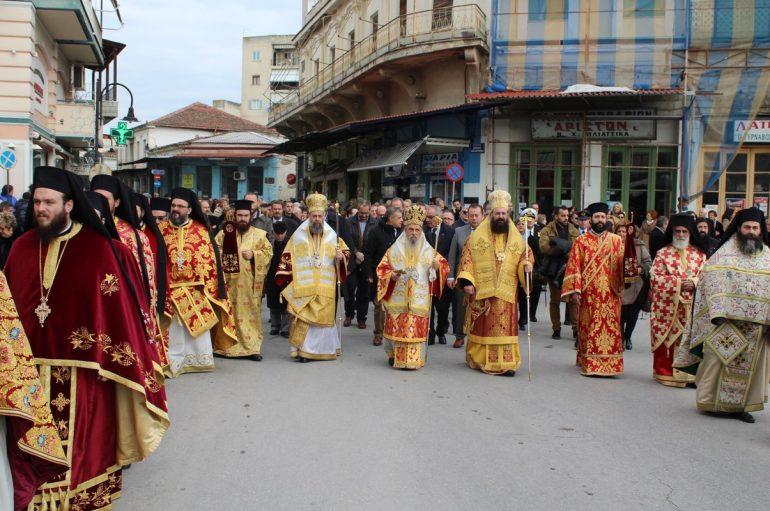 Ο Τύρναβος εόρτασε τον Πολιούχο του Άγιο Γεδεών (ΦΩΤΟ)