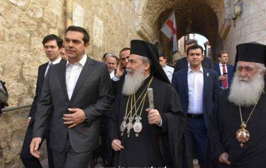 Ο Πρωθυπουργός επιθεωρεί τις εργασίες του Ιερού Κουβουκλίου (ΦΩΤΟ – ΒΙΝΤΕΟ)