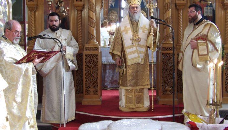 Θ. Λειτουργία στα Ροζενά από τον Μητροπολίτη Κορίνθου (ΦΩΤΟ)