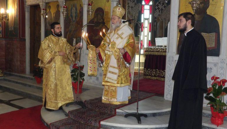 Θ. Λειτουργία από τον Μητροπολίτη Κορίνθου στο Κιάτο Κορινθίας (ΦΩΤΟ)