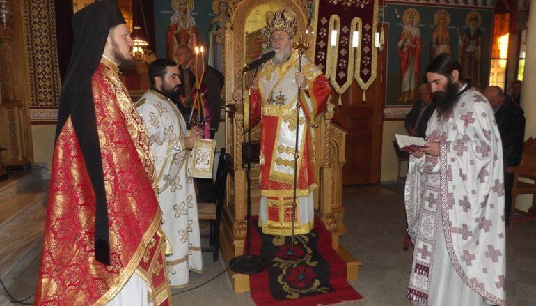 Η εορτή του Πρωτομάρτυρος Στεφάνου στην Ι. Μ. Κορίνθου (ΦΩΤΟ)