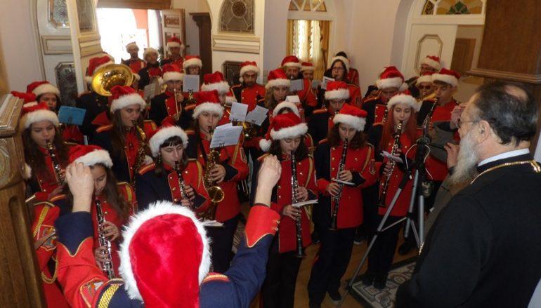 Τα πρωτοχρονιάτικα κάλαντα άκουσε ο Μητροπολίτης Κορίνθου (ΦΩΤΟ)