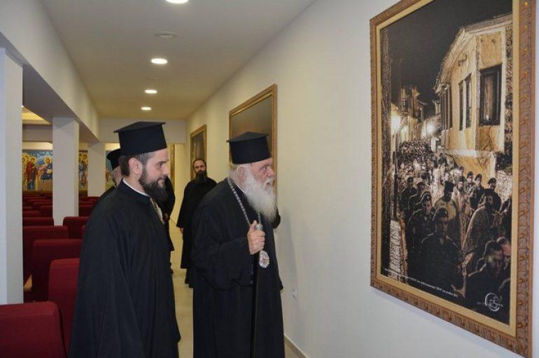 Στην Ελευθερούπολη ο Αρχιεπίσκοπος Αθηνών για την εορτή του Αγ. Ελευθερίου (ΦΩΤΟ)