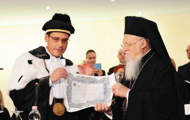 Ο Οικ. Πατριάρχης Επίτιμος Διδάκτωρ του Πανεπιστημίου του Salento (ΦΩΤΟ-ΒΙΝΤΕΟ)