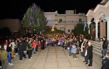 Χριστουγεννιάτικη εκδήλωση των κατηχητικών ομάδωνστα Δεμένικα Πατρών (ΦΩΤΟ)