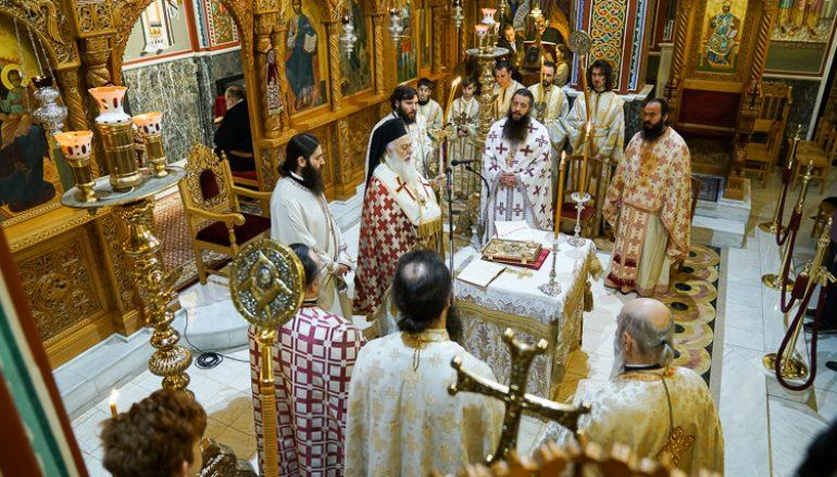 Εσπερινή πρωτοχρονιάτικη Θ. Λειτουργία στην Ι. Μητρόπολη Βεροίας (ΦΩΤΟ)