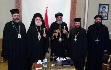 Επίσκεψη του Αλεξανδρινού Προκαθήμενου στον Κόπτη Πατριάρχη στο Κάιρο (ΦΩΤΟ)