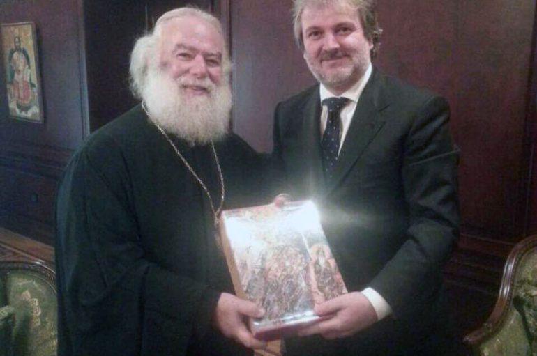 Στον Πατριάρχη Αλεξανδρείας ο Πρέσβης της Σερβικής Δημοκρατίας στην Αίγυπτο (ΦΩΤΟ)