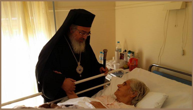 Επίσκεψη του Μητροπολίτη Πρεβέζης στο Νοσοκομείο Πρέβεζας (ΦΩΤΟ)