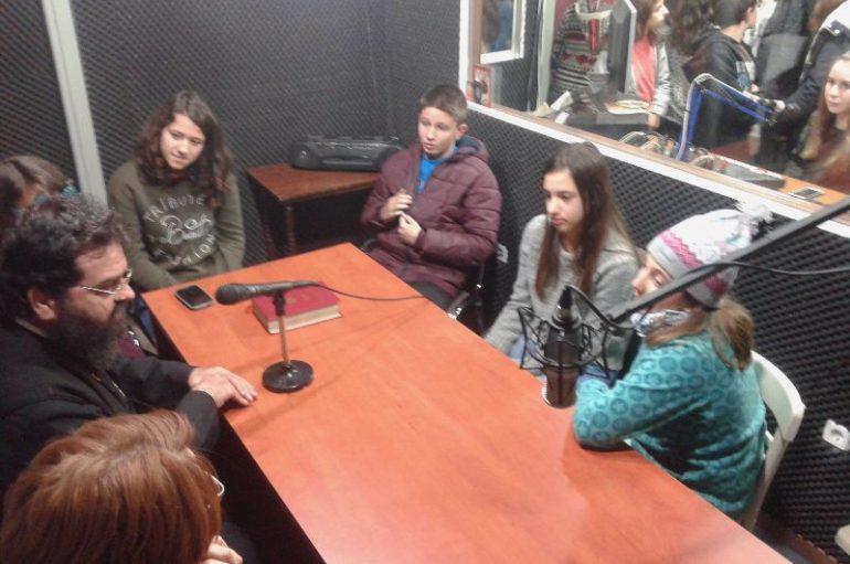 Ο Μητροπολίτης Μαρωνείας σε εκπομπή του Ραδιοφώνου της Ι. Μ. Μαρωνείας