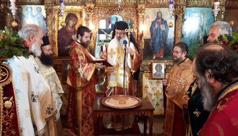 Η εορτή της Αγίας Αναστασίας στην Ι. Μ. Αλεξανδρουπόλεως (ΦΩΤΟ)