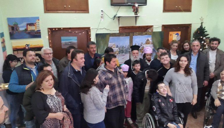 Ο Μητροπολίτης Γρεβενών στην Χριστουγεννιάτικη γιορτή του Ειδικού Σχολείου (ΦΩΤΟ)