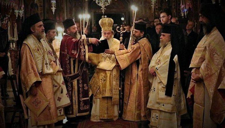 H Εορτή του Οσίου Σάββα του Ηγιασμένου στο Πατριαρχείο Ιεροσολύμων (ΦΩΤΟ-ΒΙΝΤΕΟ)