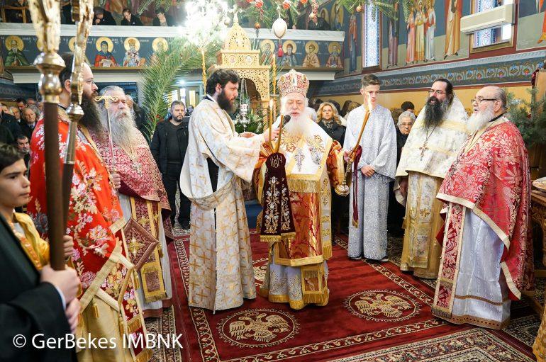 Η εορτή της Αγίας Βαρβάρας στη Βέροια (ΦΩΤΟ)