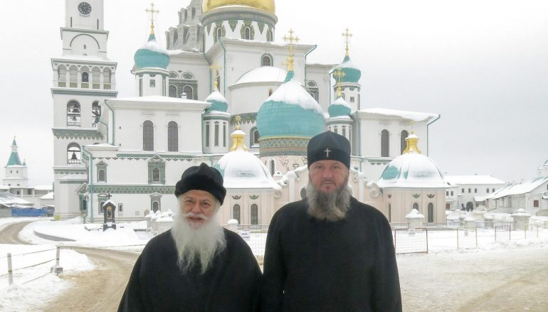 Ο Μητροπολίτης Βεροίας στην Ι. Μονή Αγίου Σάββα και Νέας Ιερουσαλήμ της Ρωσίας (ΦΩΤΟ)