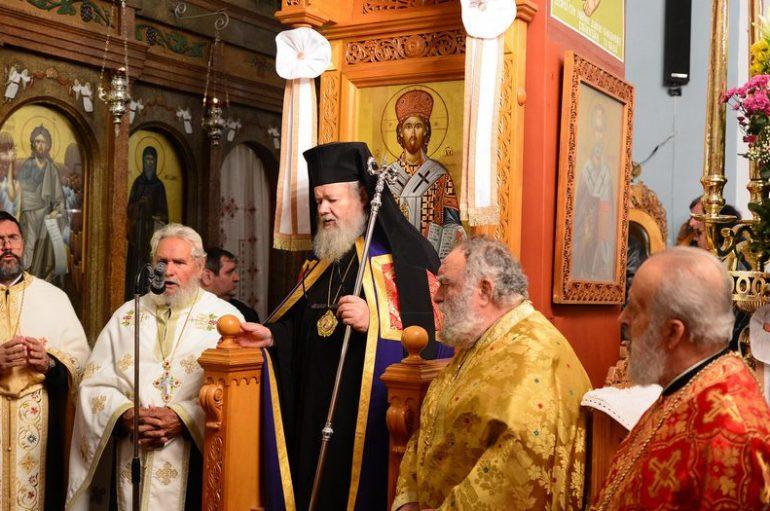 Ο εορτασμός του Αγίου Σπυρίδωνος στην Ι. Μ. Κυδωνίας (ΦΩΤΟ)