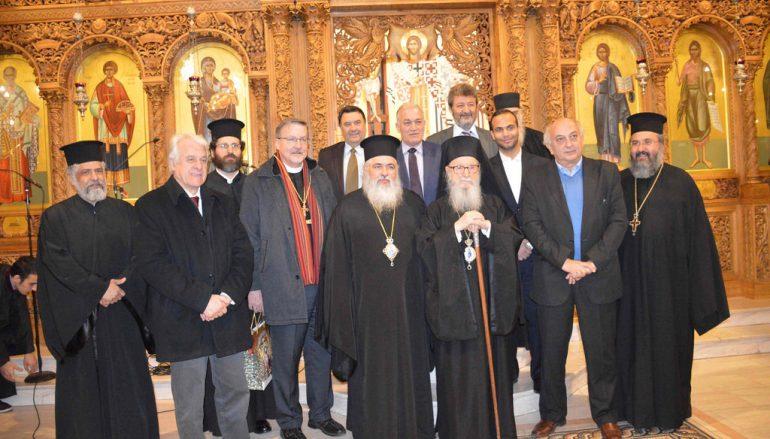 O Αρχιεπίσκοπος Αμερικής επισκέφθηκε την Ι. Μ. Νεαπόλεως (ΦΩΤΟ-BINTEO)