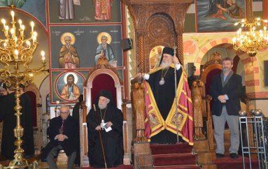 Αρχιερατικός Εσπερινός Χριστουγέννων στον Ι.Ν.Αγίου Γεωργίου Νεαπόλεως (ΦΩΤΟ-ΒΙΝΤΕΟ)